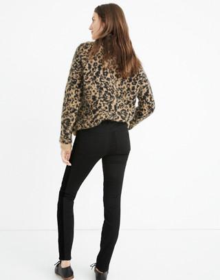 """Tall 9"""" High-Rise Skinny Jeans: Velvet Tuxedo Stripe Edition in esther wash image 3"""
