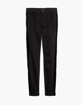 """Tall 9"""" High-Rise Skinny Jeans: Velvet Tuxedo Stripe Edition in esther wash image 4"""