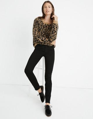 """Tall 9"""" High-Rise Skinny Jeans: Velvet Tuxedo Stripe Edition in esther wash image 1"""
