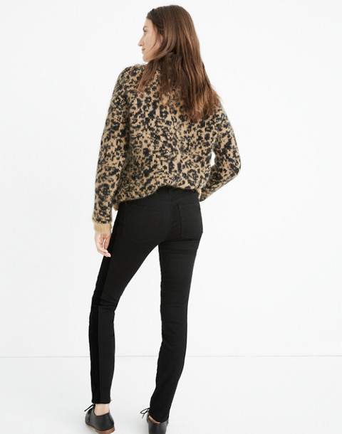 """Tall 9"""" High-Rise Skinny Jeans: Velvet Tuxedo Stripe Edition"""