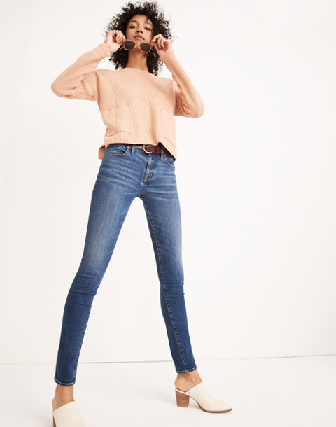 "8"" Skinny Jeans in Ames Wash"