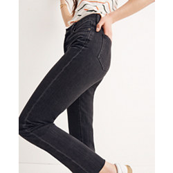 The Tall Perfect Summer Jean in Crawley Black Wash