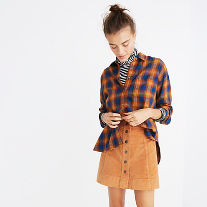 Westward Shirt in Ardan Plaid