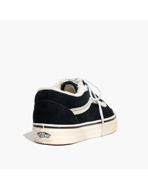 Madewell x Vans® Unisex Old Skool Sneakers in Suede and Sherpa fa1a16dde