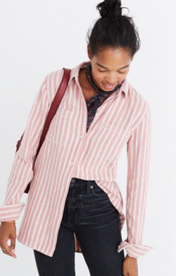 Flannel Classic Ex-Boyfriend Shirt in Craig Stripe