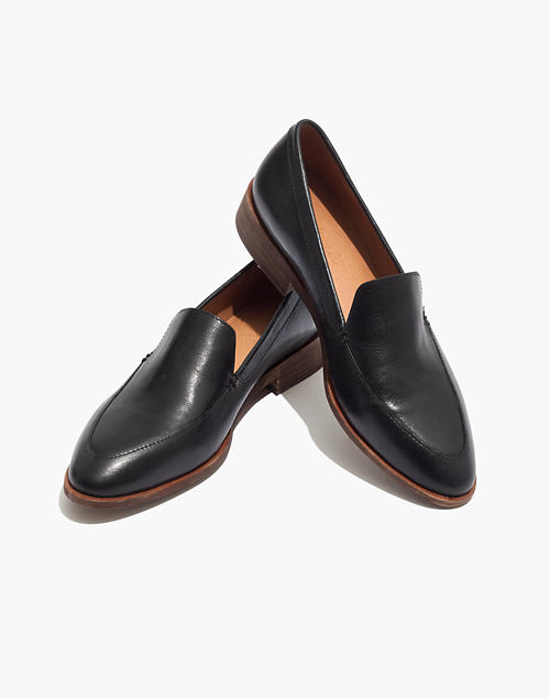 c837e4944454 The Frances Loafer in true black image 1