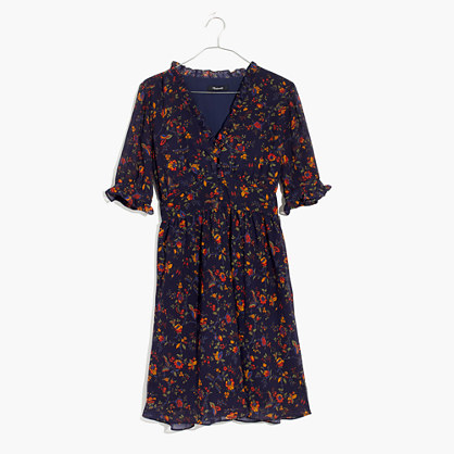 Freesia Dress in Climbing Vine