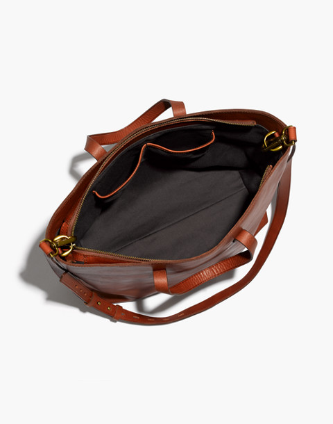 The Zip-Top Transport Carryall in english saddle image 3