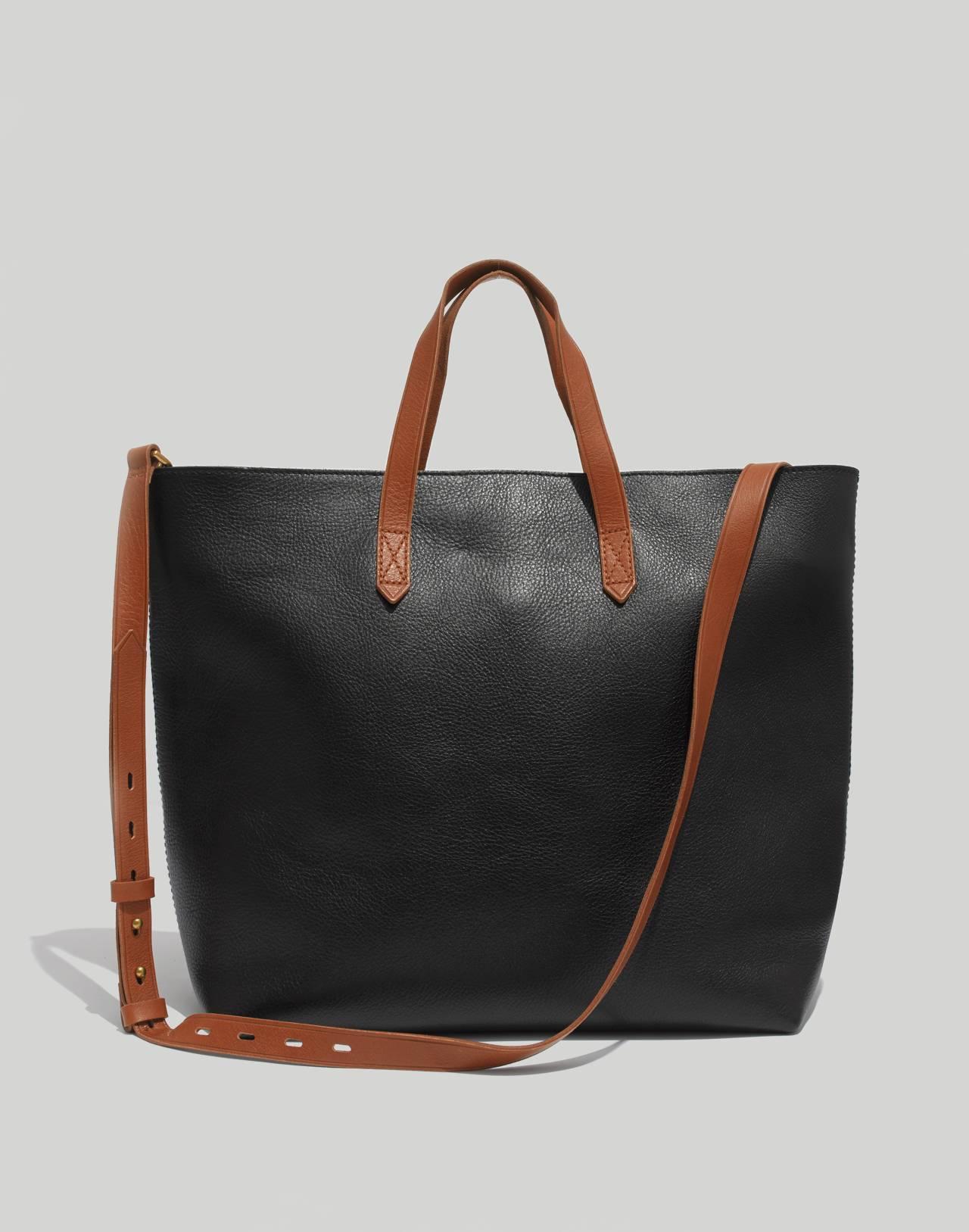 The Zip-Top Transport Carryall in true black brown image 1