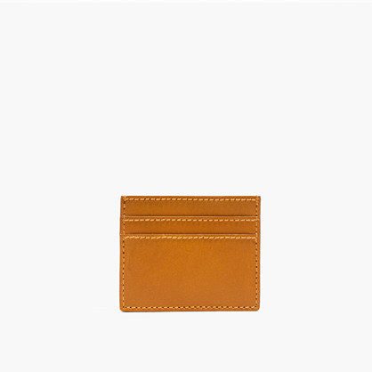 The Leather Card Case in Cider