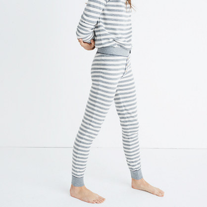 Striped Pajama Leggings