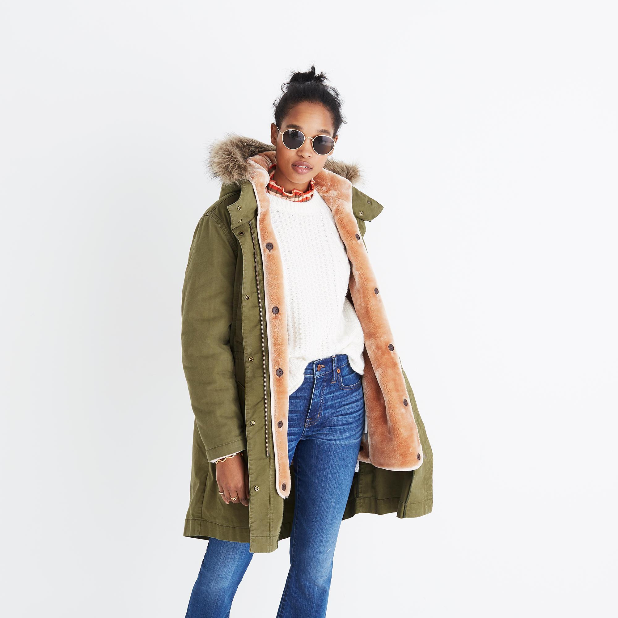 Bedford Convertible Parka : coats | Madewell