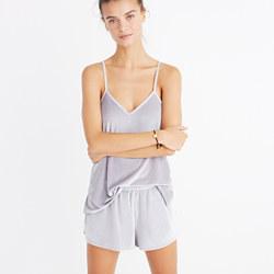 Velvet Pajama Shorts