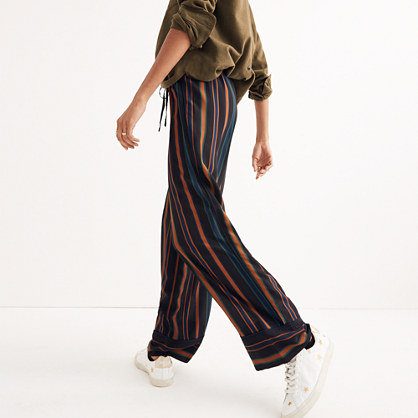 Pajama Trousers in Clermont Stripe