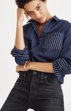 Classic Ex-Boyfriend Shirt in Stripe Mix