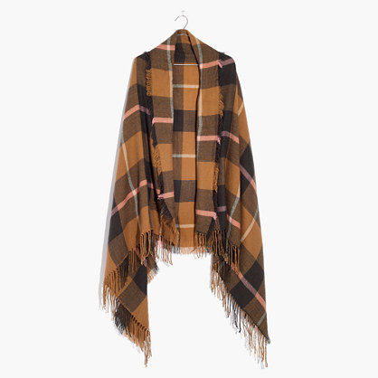 Square Plaid Scarf