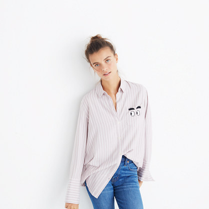 Embroidered Bristol Button-Down Shirt