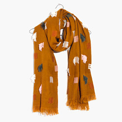 Fringe-Mix Scarf