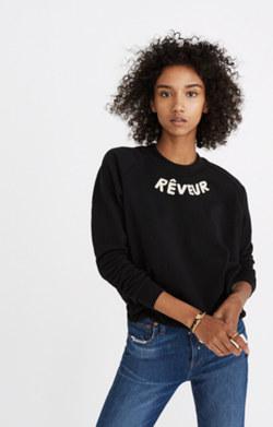 Reveur Drawstring Sweatshirt