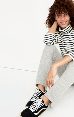 Cozy Step-Hem Sweatpants