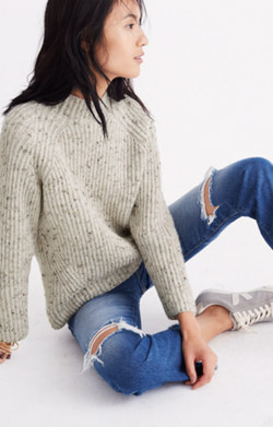 Donegal Northfield Mockneck Sweater