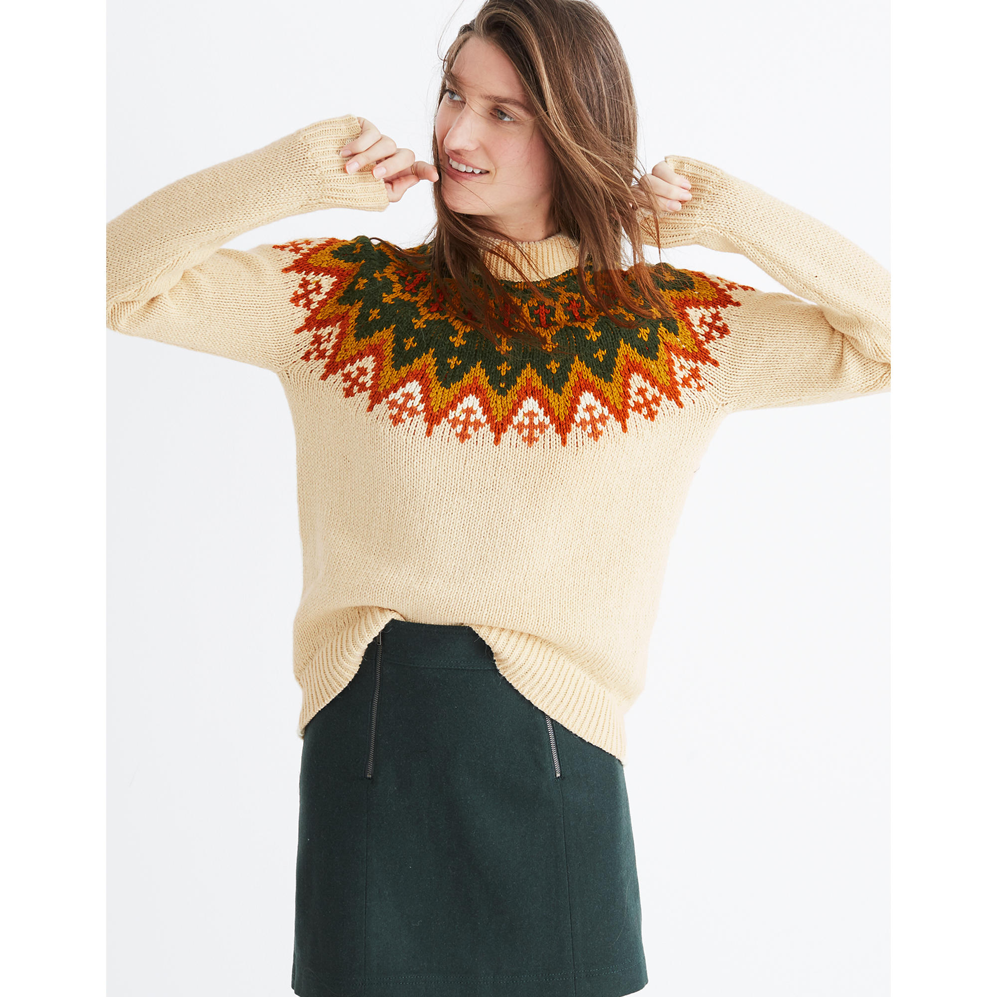 Fair Isle Pullover Sweater : pullovers | Madewell