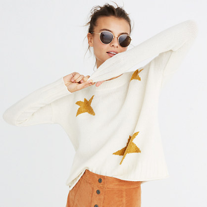 Star Pullover Sweater