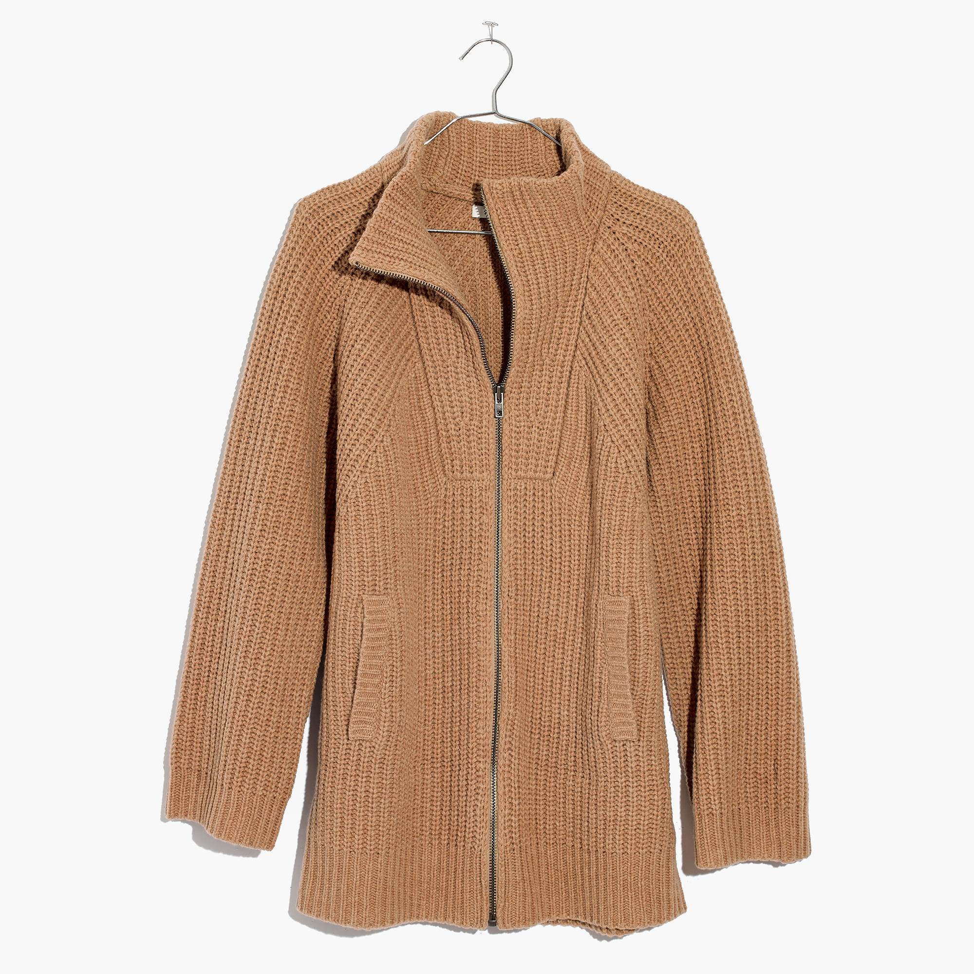 Ribbed Zip Cardigan Sweater : cardigans & sweater-jackets | Madewell