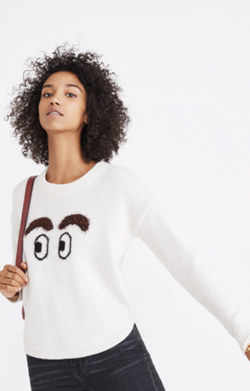 High-Brow Pullover Sweater