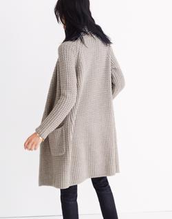 Wafflestitch Sweater-Coat