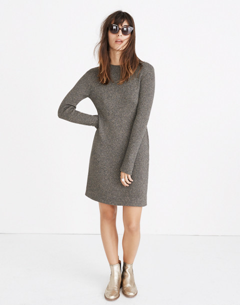 Night Sparkle Mockneck Dress