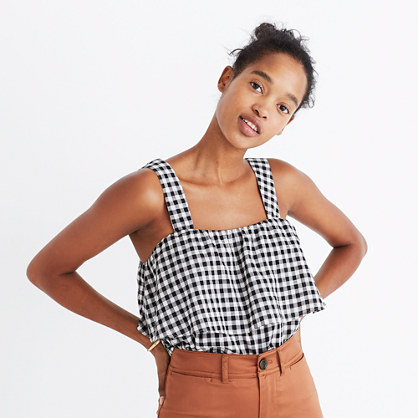 Gingham Tier Top