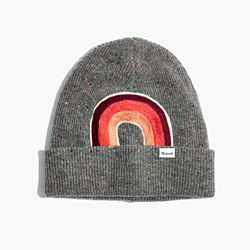 Madewell x Ft. Lonesome™ Embroidered Cuffed Cozy-Knit Beanie