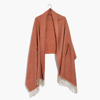 Solid Cape Scarf
