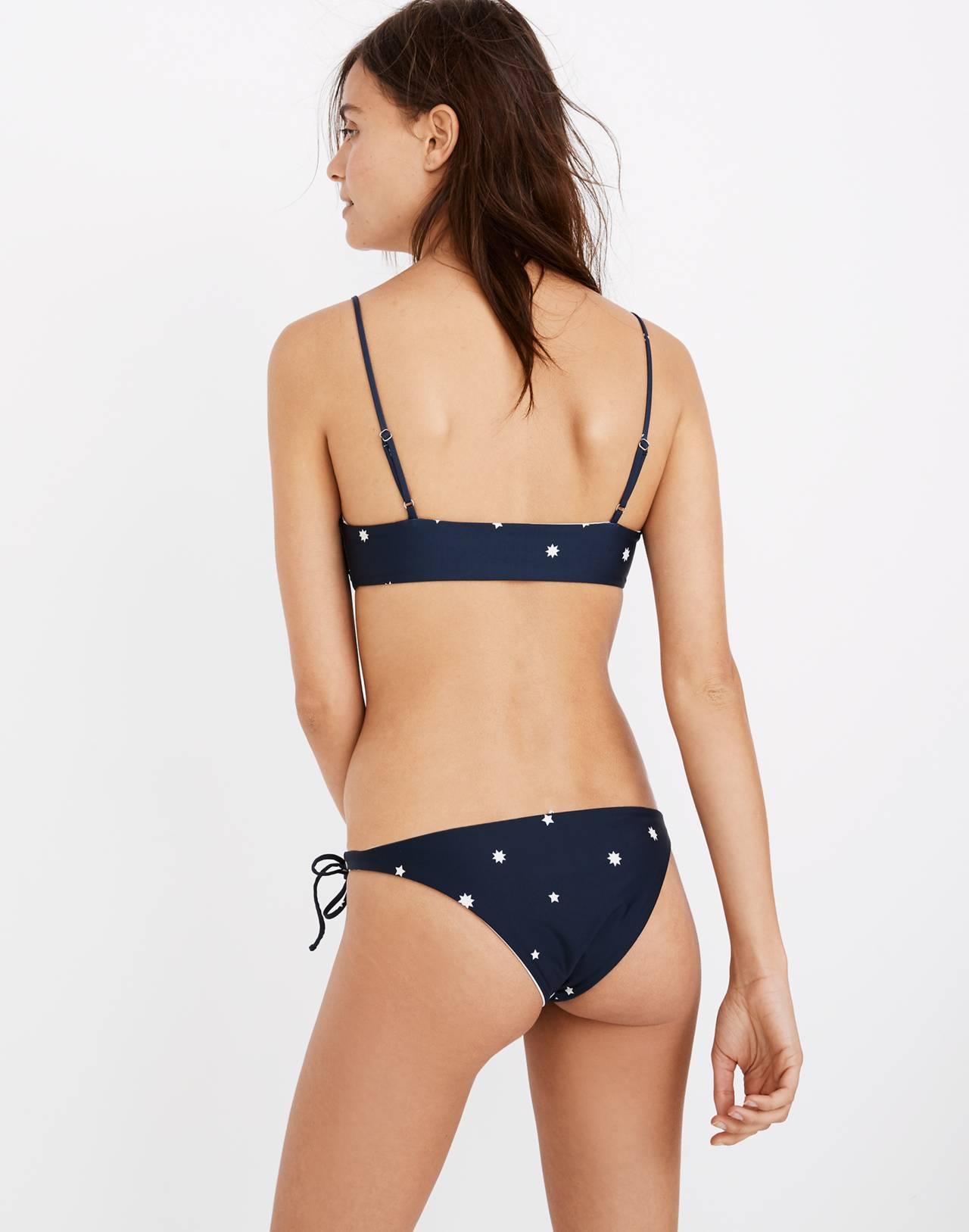 Madewell x Tavik® Ricci Bikini Bottom in Star Mix in holiday stars image 3