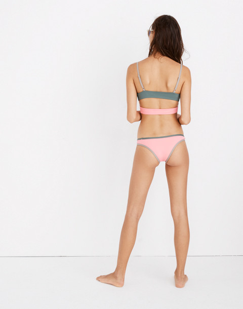 Madewell x Tavik® Jayden Bikini Bottom in Colorblock
