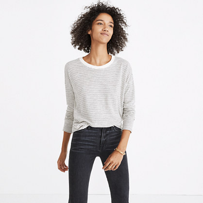 Rivet & Thread Long-Sleeve Ex-Boyfriend Tee in Stripe