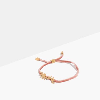 Velvet Charm Bracelet