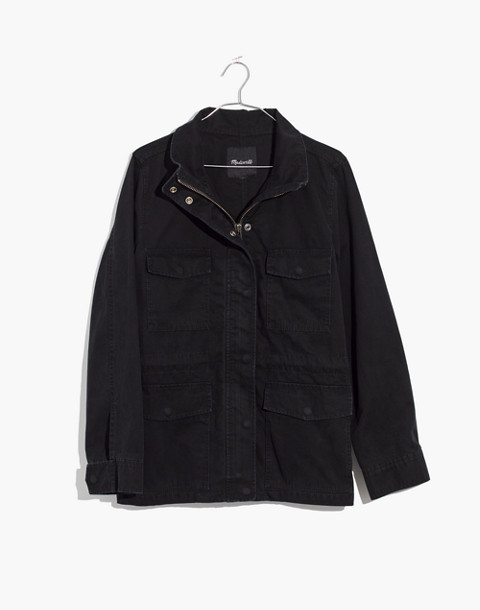 Surplus Jacket in true black image 1