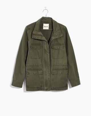 Surplus Jacket in foliage green image 4