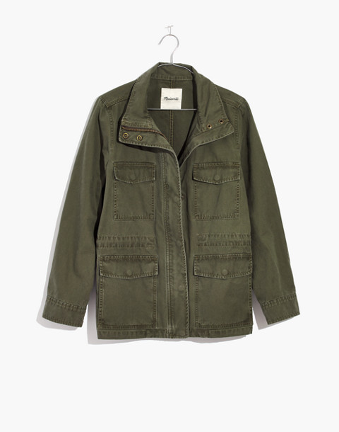 Surplus Jacket in foliage green image 4