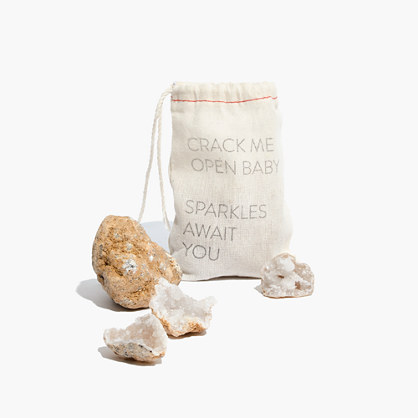 Chaparral Studio™ Crack Me Open Baby Sparkles Await You Geode