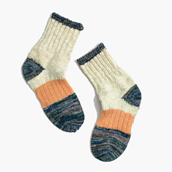 Madewell x Hansel from Basel™ Metallic Dapple Crew Socks