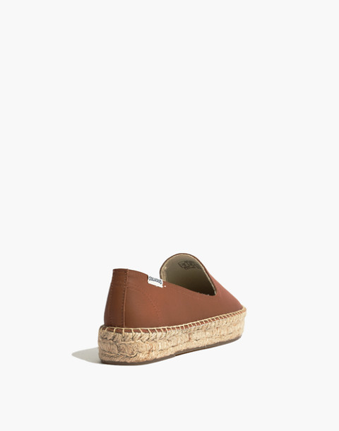 Soludos® Platform Smoking Slippers in tan image 3
