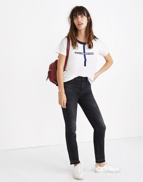 Madewell x Monogram® This Is a T-Shirt About Women Tee in women image 3