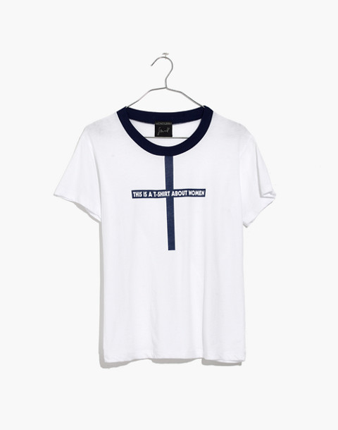 Madewell x Monogram® This Is a T-Shirt About Women Tee in women image 4