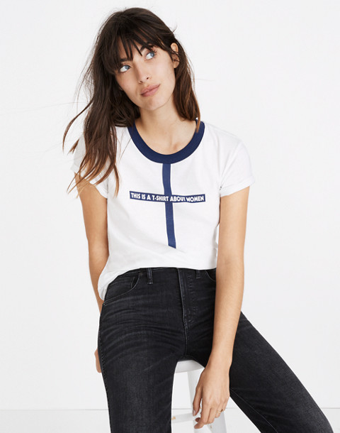Madewell x Monogram® This Is a T-Shirt About Women Tee in women image 1