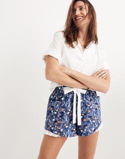 Karen Walker® Floral Johanna Shorts