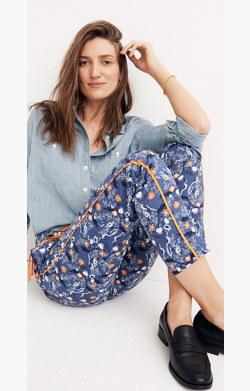 Karen Walker® Floral Fiagro Boat Pants