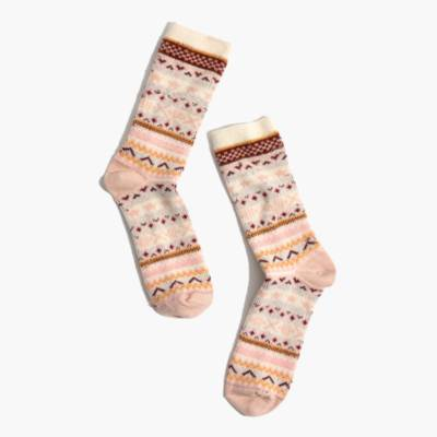 Fair Isle Trouser Socks : shopmadewell cold-weather accessories ...